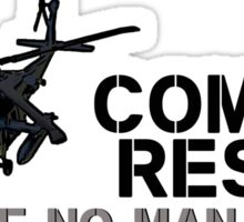 Combat Rescue- Leave no man behind Sticker