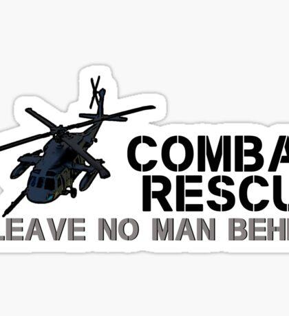 Combat Rescue- Leave no man behind Sticker