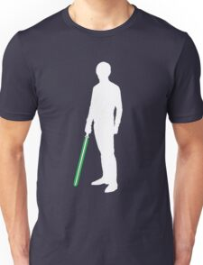 Star Wars Luke Skywalker White Unisex T-Shirt