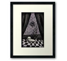 The Squid Boy Framed Print
