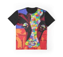 Calico Cow Graphic T-Shirt