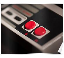 NES Controller Art Photograph Poster