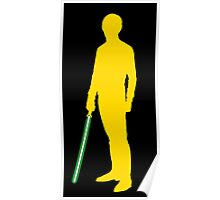 Star Wars Luke Skywalker Yellow Poster