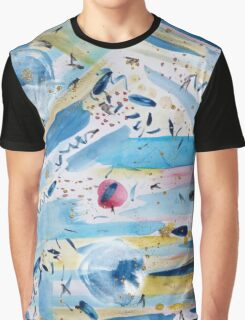 Watercolor hand paint abstract art Graphic T-Shirt