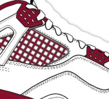 "Air Jordan IV (4) ""Alternate 89"" Sticker"