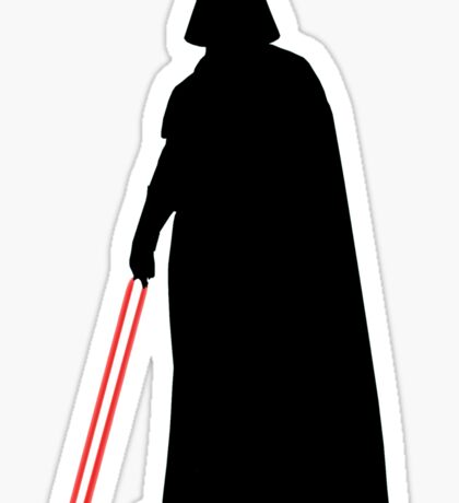 Star Wars Darth Vader Black Sticker