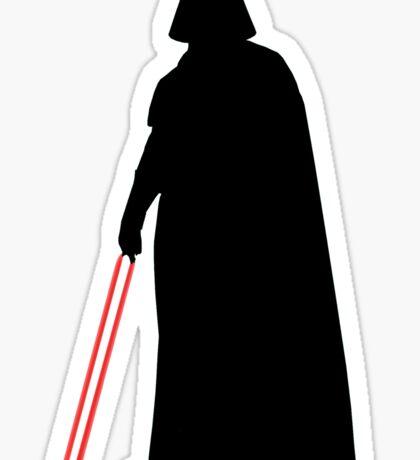 Star Wars Darth Vader Black Sticker