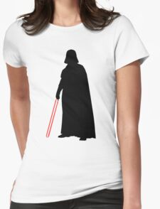 Star Wars Darth Vader Black Womens Fitted T-Shirt