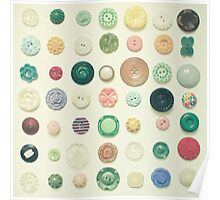 The Button Collection Poster