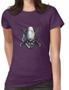 Halo Legendary Difficulty Logo Womens Fitted T-Shirt