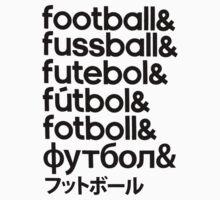 Football Baby Tee