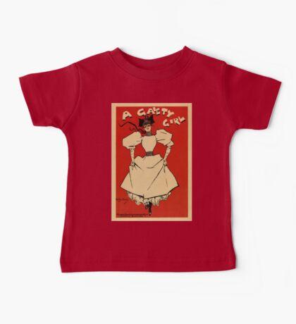 A gaiety girl, vintage British musical advert  Baby Tee