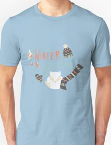 Winter garden pattern 003 Unisex T-Shirt