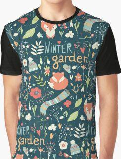 Winter garden pattern 001 Graphic T-Shirt