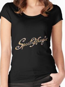 SpectroMagic (Multicolor) Women's Fitted Scoop T-Shirt