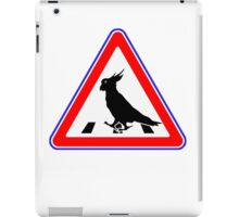 Bird-Crosswalk iPad Case/Skin