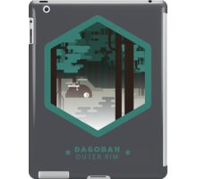Dagobah - Outer Rim Emblem - Star Wars iPad Case/Skin