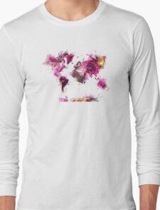 World Map 2044 Long Sleeve T-Shirt