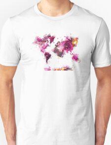 World Map 2044 Unisex T-Shirt