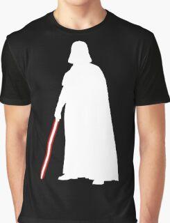 Star Wars Darth Vader White Graphic T-Shirt