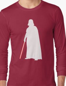 Star Wars Darth Vader White Long Sleeve T-Shirt
