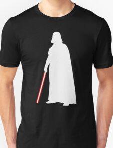 Star Wars Darth Vader White Unisex T-Shirt