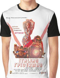 Italian Spiderman Poster - ONE:Print Graphic T-Shirt