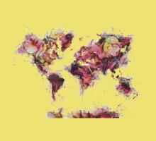 world map 2032 Kids Tee