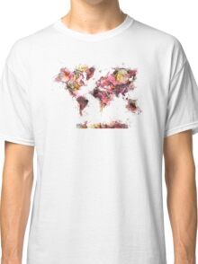 world map 2032 Classic T-Shirt