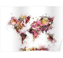 world map 2032 Poster