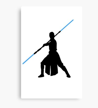 Star Wars - Rey lightsaber Canvas Print