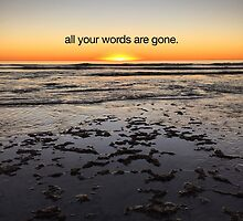 all your words are gone by stolen lyric