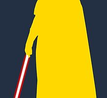 Star Wars Darth Vader Yellow by fn2187