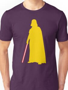 Star Wars Darth Vader Yellow Unisex T-Shirt