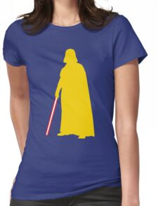 Star Wars Darth Vader Yellow Womens Fitted T-Shirt