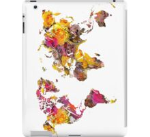 world map 2037 iPad Case/Skin