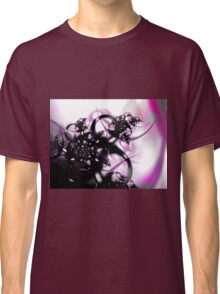 Purple Abstract Classic T-Shirt