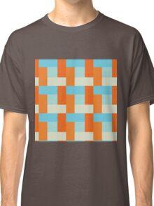Koi Pond Block Pattern Classic T-Shirt