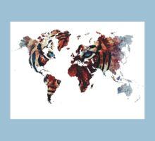 World Map 2067 Kids Tee