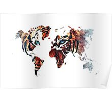 World Map 2067 Poster
