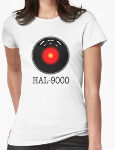HAL- 9000 Womens Fitted T-Shirt