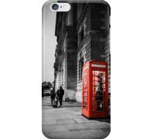 Iconic London Telephone box iPhone Case/Skin