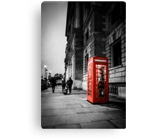 Iconic London Telephone box Canvas Print