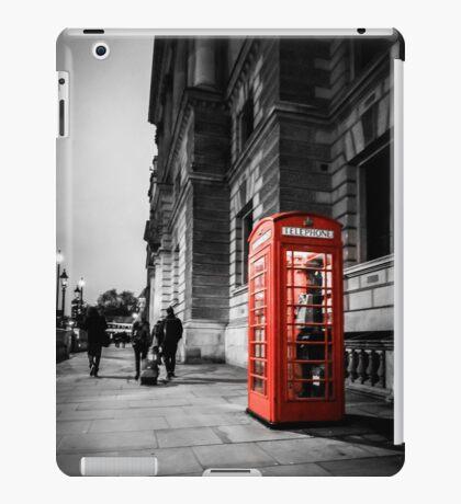 Iconic London Telephone box iPad Case/Skin