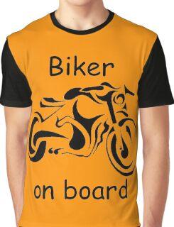 Biker on board 4 Graphic T-Shirt