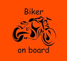 Biker on board 4 Unisex T-Shirt