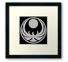 Nightingale Symbol Skyrim Framed Print
