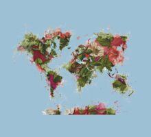 World Map 2049 Baby Tee