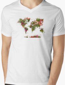 World Map 2049 Mens V-Neck T-Shirt