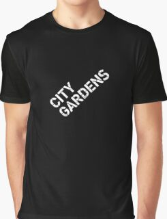 City Gardens - Stage Wall Stencil Design Graphic T-Shirt